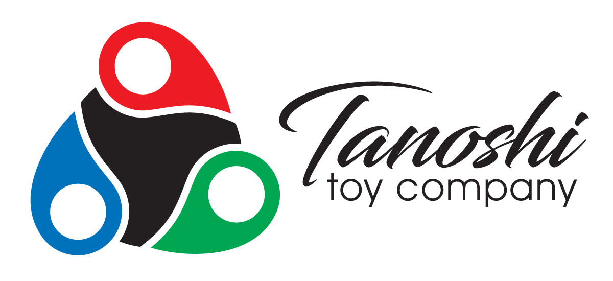 Tanoshi Toy Company - Speculative Logo for the chrome fidget spinner project - Augustana College Graphic Design Class - Adobe Illustrator CS4-CS6 - 2017