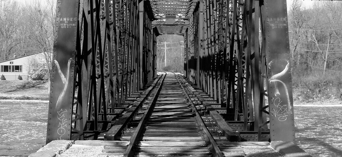Rail Road Bridge - Photography - Augustana College Photography I Class - 2016