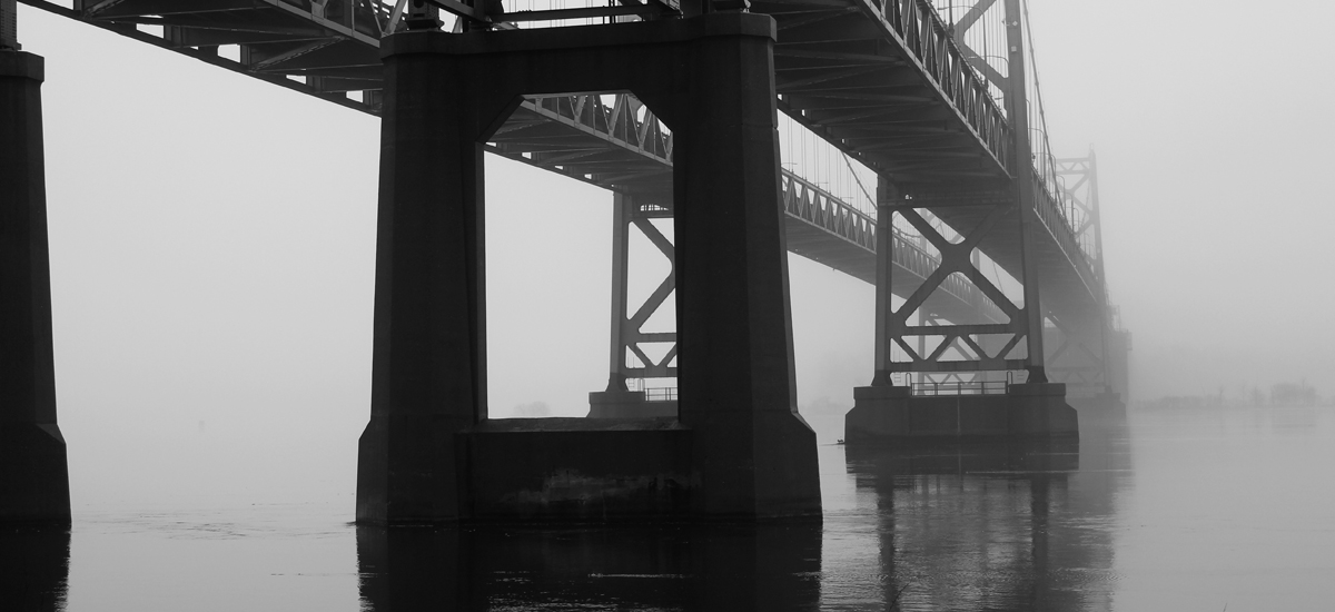I-74 Bridge - Photography - Augustana College Photography I Class - 2016