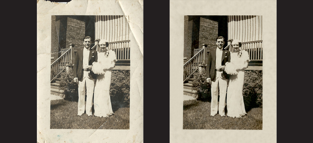 Photo Restoration - Augustana College Photography II Class - 2016